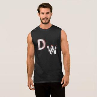 DW Logo: Men's Ultra Cotton Sleeveless T-Shirt