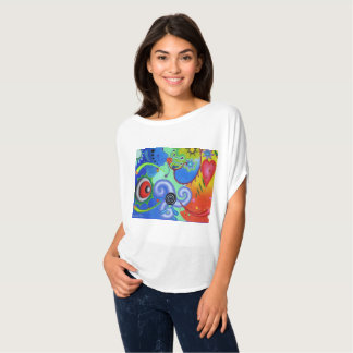 """Dwainizms """"Astral Dreams"""" Flowy Circle Top"""
