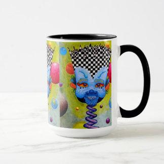 "Dwainizms ""Blue Man"" 15 oz Ringer Combo Mug"