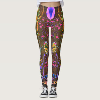 "Dwainizms ""Fantasia - Olive"" Custom Leggings"