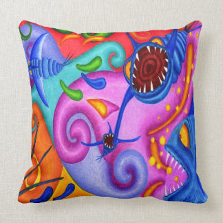 "Dwainizms ""Party Poopers"" Throw Pillow 20 x 20"