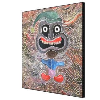 Dwarf by rafi talby canvas print
