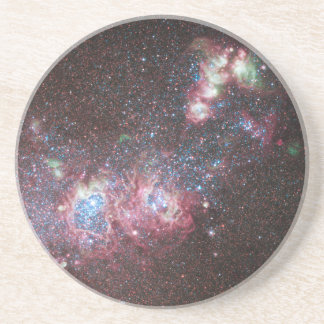 Dwarf Galaxy NGC 4214 Beverage Coasters