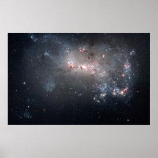 Dwarf Galaxy NGC 4449 Poster