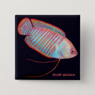 Dwarf Gourami Tropical Fish Pin