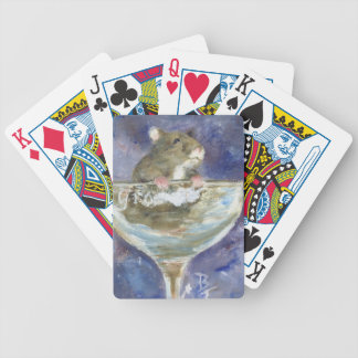 Dwarf Hamster Playing Cards