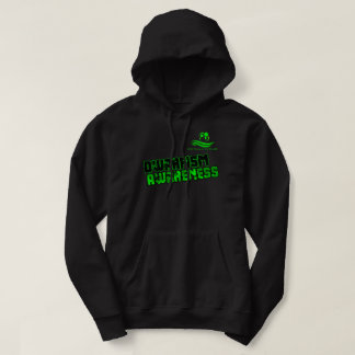 Dwarifsm Awareness Hoodie LPOTW BLack and Green
