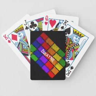 DWAYNE BICYCLE PLAYING CARDS