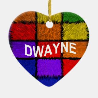 DWAYNE CERAMIC ORNAMENT