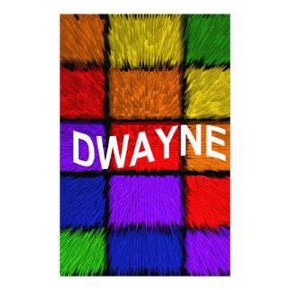DWAYNE STATIONERY