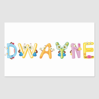 Dwayne Sticker