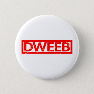 Dweeb Stamp 2 Inch Round Button