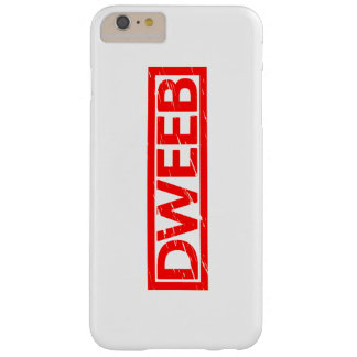Dweeb Stamp Barely There iPhone 6 Plus Case