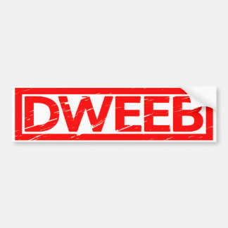 Dweeb Stamp Bumper Sticker