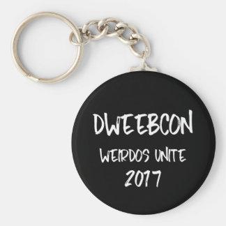 Dweebcon Keychain