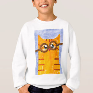 Dweeby cat sweatshirt
