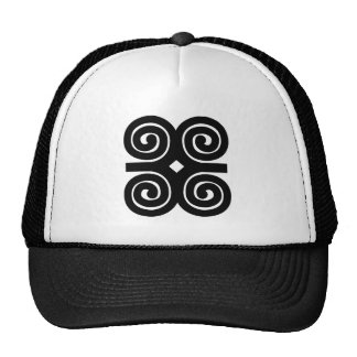 Dwennimmen - Strength and Humility Adinkra Symbol Trucker Hat