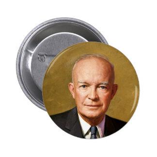 Dwight D Eisenhower 2 Inch Round Button