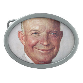 Dwight D. Eisenhower Belt Buckle