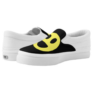 Dwight Hayden, collection, happy 😊 face zipz ! Slip-On Sneakers