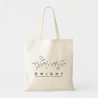 Dwight peptide name bag