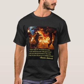 """DWMND Bukowski """"Revolution"""" T-shirt"""