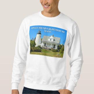 Dyce Head Lighthouse, Maine Sweatshirt