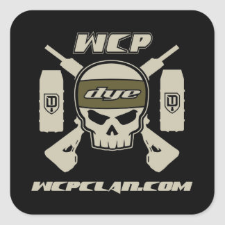 DYE Tactical Team WCP Square Sticker
