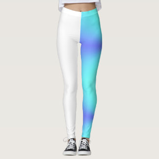 Dyed half Legging