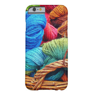 Dyed Wool for Knitting Barely There iPhone 6 Case