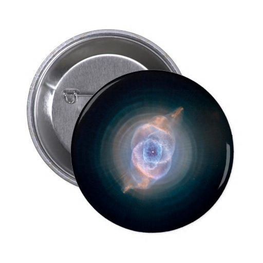Dying Star: Cat's Eye Nebula Pinback Button