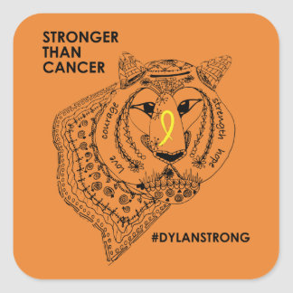 Dylan Strong Stickers - Small