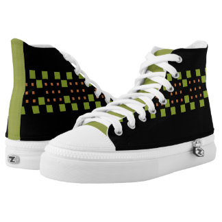 Dylo / Custom Zipz High Top Shoes