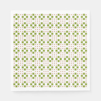 Dylo / White Standard Luncheon Paper Napkins