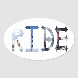 Dymond Speers RIDE STICKERS