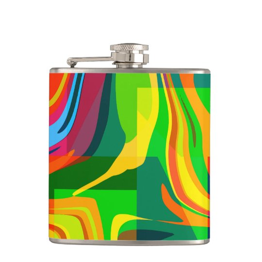 Dynamic abstract hip flask