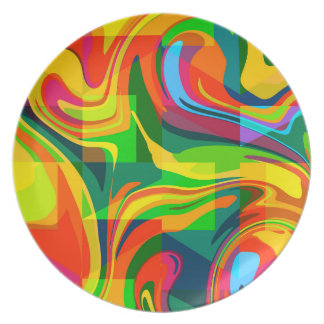 Dynamic abstract plate