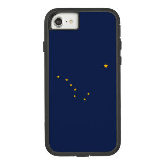Dynamic Alaska State Flag Graphic on a Case-Mate Tough Extreme iPhone 8/7 Case