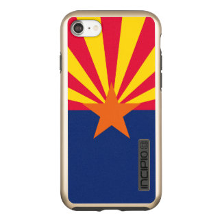 Dynamic Arizona State Flag Graphic on a Incipio DualPro Shine iPhone 8/7 Case