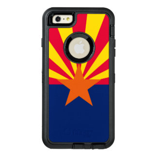 Dynamic Arizona State Flag Graphic on a OtterBox Defender iPhone Case