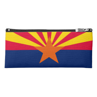 Dynamic Arizona State Flag Graphic on a Pencil Case