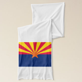 Dynamic Arizona State Flag Graphic on a Scarf