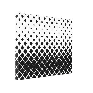 Dynamic Black and White Canvas Wall Art
