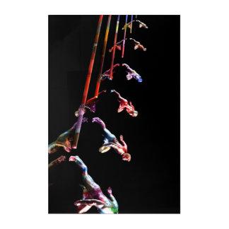 Dynamic Business Team and Sales Organization Acrylic Print