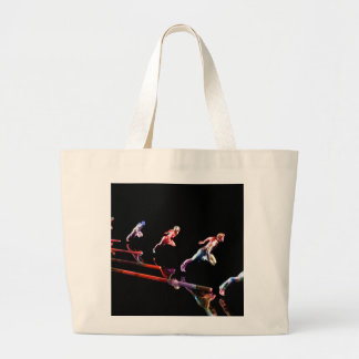 Dynamic Business Team and Sales Organization as Co Large Tote Bag