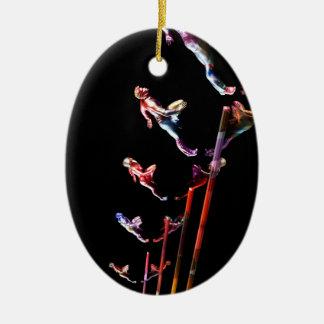 Dynamic Business Team and Sales Organization Ceramic Ornament