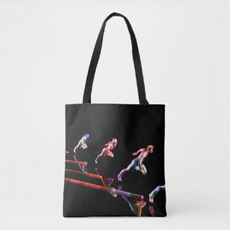 Dynamic Business Team and Sales Organization Tote Bag