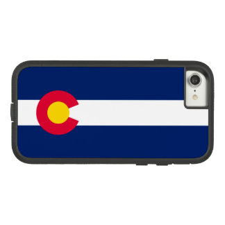 Dynamic Colorado State Flag Graphic on a Case-Mate Tough Extreme iPhone 7 Case
