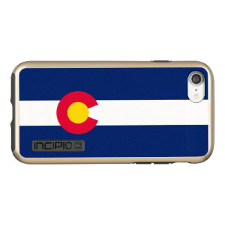 Dynamic Colorado State Flag Graphic on a Incipio DualPro Shine iPhone 7 Case