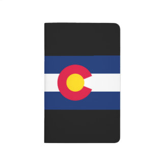 Dynamic Colorado State Flag Graphic on a Journal